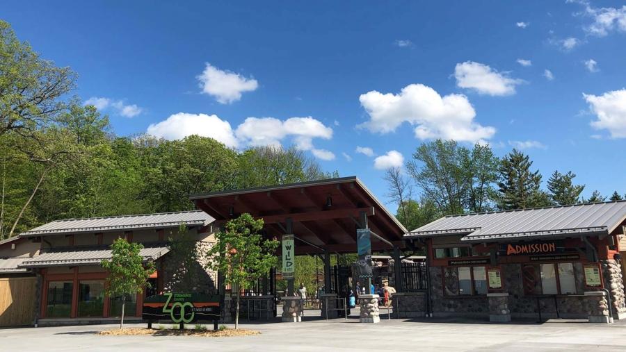 Milwaukee County Zoo West Entrance